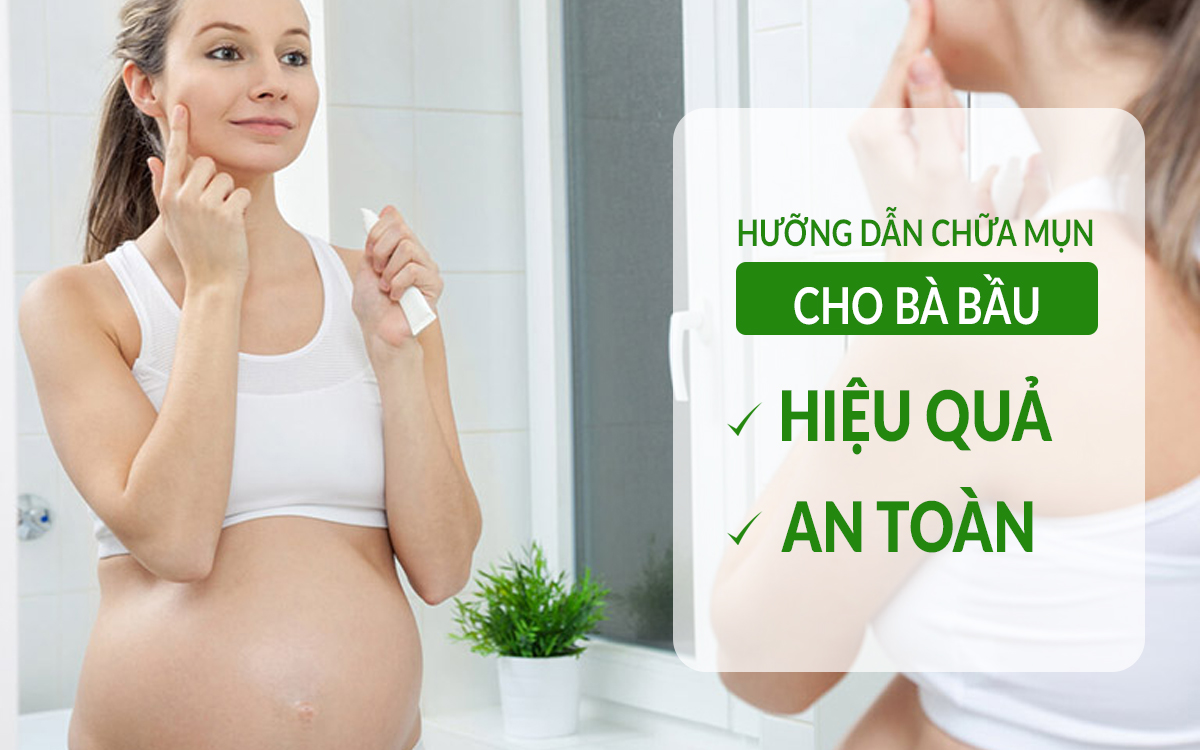 cach-chua-mun-cho-ba-bau