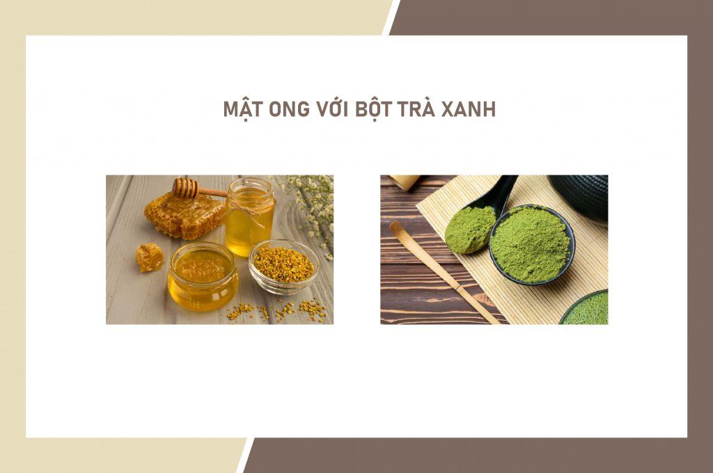 cong-thuc-tri-mun-bang-mat-ong-voi-bot-tra-xanh